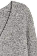 V-neck cashmere jumper - Grey marl - Ladies | H&M CA 2