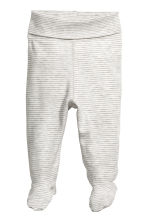 3件入平紋長褲 - Grey/White striped - Kids | H&M 2