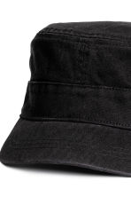 Cotton twill cap - Black - Ladies | H&M 3