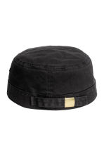Cotton twill cap - Black - Ladies | H&M 2