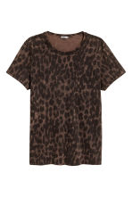 印花T恤 - Brown/Leopard print - Men | H&M 2