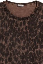 印花T恤 - Brown/Leopard print - Men | H&M 3