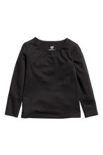 2-pack jersey tops - White/Black - Kids | H&M 2
