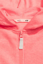 Hooded jacket - Coral pink - Kids | H&M CN 2