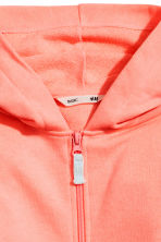 Hooded jacket - Coral pink - Kids | H&M CN 3