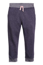 Joggers - Purple/Glittery - Kids | H&M 1