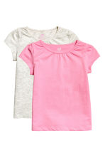 2-pack jersey tops - Pink -  | H&M CA 2