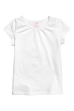 Lot de 2 tops en jersey - Rose clair chiné - ENFANT | H&M FR 2
