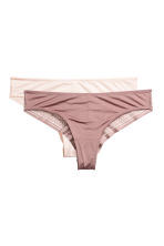 2-pack Brazilian briefs - White - Ladies | H&M 2