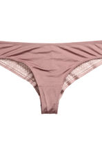 2-pack Brazilian briefs - White - Ladies | H&M 4