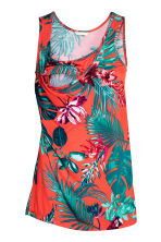 MAMA Top d'allaitement - Orange/motif - FEMME | H&M BE 3