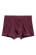 Set van 3 boxershorts - Trunk - Bordeauxrood/donuts - HEREN | H&M BE 3