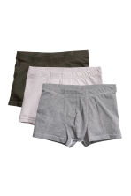 3-pack trunks - Grey/Striped - Men | H&M IE 1