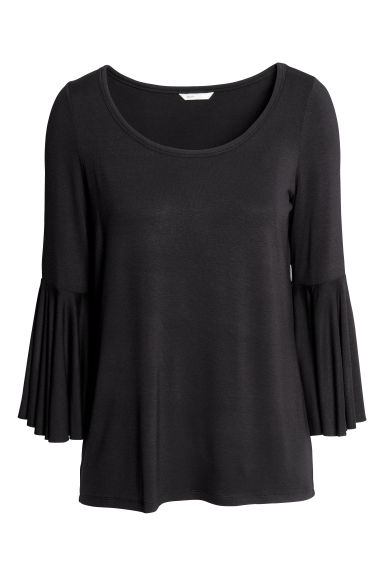 MAMA Nursing top - Black -  | H&M IE