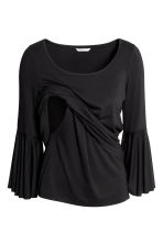 MAMA Nursing top - Black - Ladies | H&M CN 3