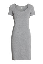 MAMA哺乳连衣裙 - Grey marl - Ladies | H&M CN 1