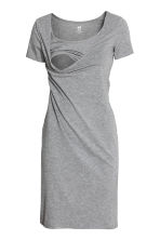 MAMA哺乳连衣裙 - Grey marl - Ladies | H&M CN 2