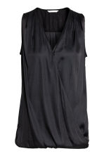 MAMA Nursing blouse - Black - Ladies | H&M CA 2