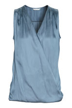 MAMA Nursing blouse - Blue - Ladies | H&M 2