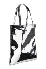 Shopper metallizzata - Argentato -  | H&M IT 2