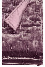 Velvet Bedspread - Purple - Home All | H&M CA 2