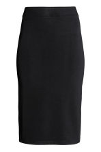 Knee-length pencil skirt - Black - Ladies | H&M 2