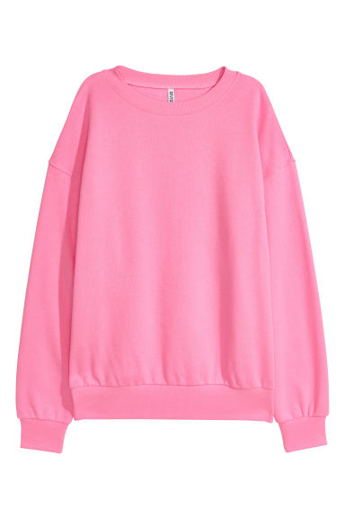 Oversized sweatshirt - Pink - Ladies | H&M