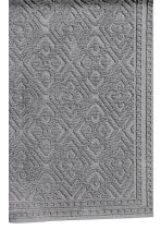 Jacquard-weave bath mat - Anthracite grey - Home All | H&M GB 2