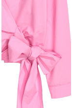Wrapover blouse - Pink - Ladies | H&M 3
