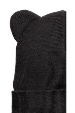 Hat with ears - Black -  | H&M 2