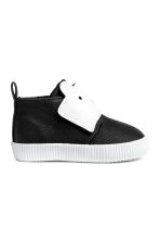 Warm-lined High Tops - Black - Kids | H&M CA 2