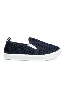 Slip-on mesh trainers