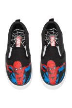 Zwart/Spiderman