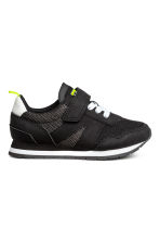 Mesh trainers - Black -  | H&M CN 1