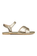 Sandals - Gold - Kids | H&M 1