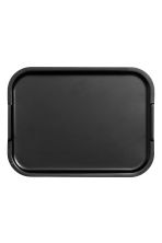 Large metal tray - Black - Home All | H&M IE 2