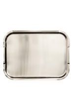 Large Metal Tray - Silver - Home All | H&M CA 2