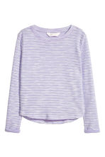 Tricot top - Paars -  | H&M NL 2