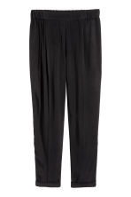 Pull-on trousers - Black - Ladies | H&M CN 2