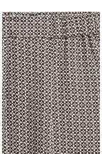 Pull-on trousers - Black/Patterned - Ladies | H&M 3