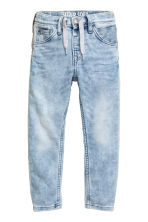 Super Soft Relaxed Jeans - Light denim blue - Kids | H&M CN 1
