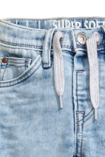 Super Soft Relaxed Jeans - Light denim blue - Kids | H&M CN 3