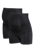 MAMA 2-pack support briefs - Black - Ladies | H&M 2