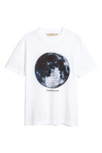 Printed T-shirt - White/Moon - Men | H&M CN 2