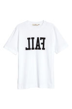 Printed T-shirt - White - Men | H&M CA 2