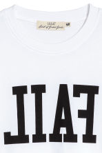 Printed T-shirt - White - Men | H&M 3
