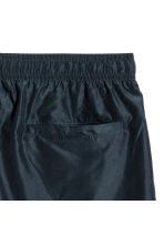 Knee-length swim shorts - Dark blue/Striped - Men | H&M CA 3