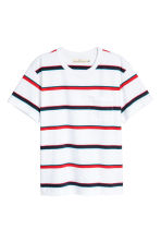 T-shirt - White/Striped - Men | H&M 2