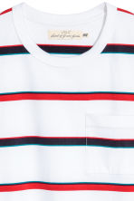T-shirt - White/Striped - Men | H&M 3