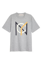 T-shirt - Light grey - Men | H&M 2